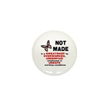 Not Made... Mini Button (10 pack)
