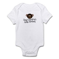 Great Grandma's Monkey B Infant Bodysuit