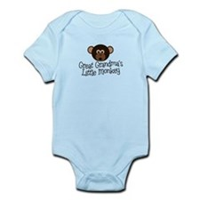 Great Grandma's Monkey B Onesie