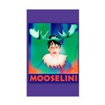 Sarah Palin is Mooselini Rectangle Sticker