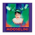 Sarah Palin is Mooselini Tile Coaster