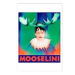 Sarah Palin is Mooselini Postcards (Package of 8)