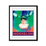 Sarah Palin is Mooselini Framed Panel Print