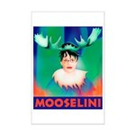 Sarah Palin is Mooselini Mini Poster Print