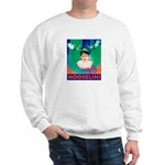 Sarah Palin is Mooselini Sweatshirt