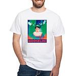 Sarah Palin is Mooselini White T-Shirt