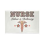 Labor & Delivery Nurse Caduceus Magnet 100 Pac