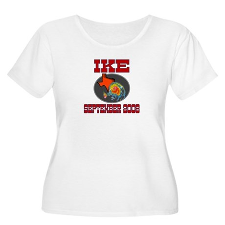 Hurricane Ike Women's Plus Size Scoop Neck T-Shirt