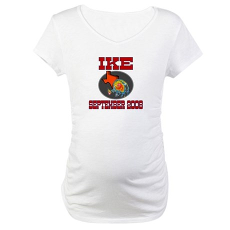 Hurricane Ike Maternity T-Shirt