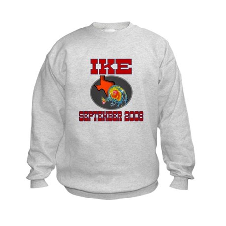 Hurricane Ike Kids Sweatshirt
