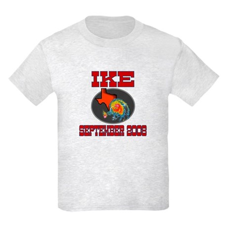 Hurricane Ike Kids Light T-Shirt
