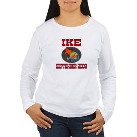 Hurricane Ike Women's Long Sleeve T-Shirt