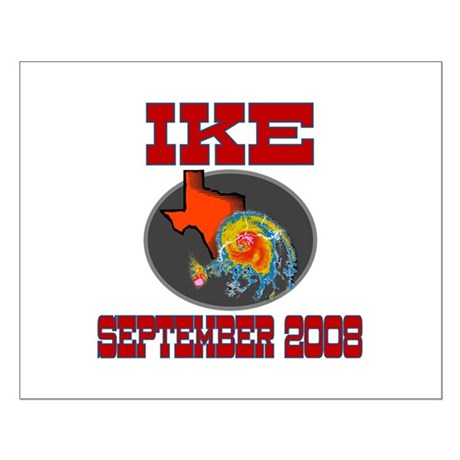 Hurricane Ike Small Poster