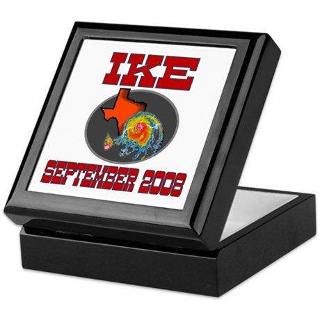 Hurricane Ike Keepsake Box
