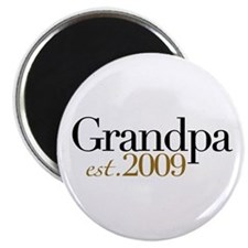 "New Grandpa 2009 2.25"" Magnet (10 pack)"