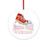 Picked First Gym Class Keepsake (Round)