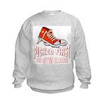 Picked First Gym Class Kids Sweatshirt