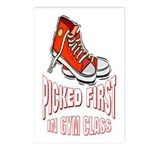 Picked First Gym Class Postcards (Package of 8)
