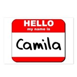 Hello my name is Camila Postcards (Package of 8)