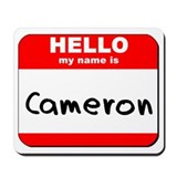 Hello my name is Cameron Mousepad