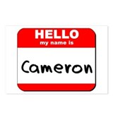 Hello my name is Cameron Postcards (Package of 8)