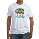 See Speak Hear No Cervical Cancer 1 Shirt