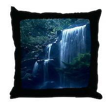 Unique Waterfalls Throw Pillow