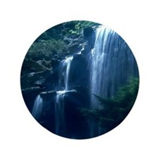 "Cute Waterfalls 3.5"" Button (100 pack)"