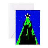 Line Out Holiday Greeting Cards (Pk of 10)