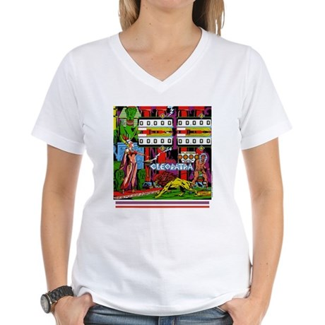 "Gottlieb® ""Cleopatra"" Women's V-Neck T-Shirt"
