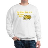 My other Ride Is A School Bus Sweater
