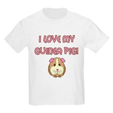 I love my guinea pig T-Shirt