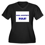 Naval Architects Rule! Women's Plus Size V-Neck Da