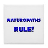 Naturopaths Rule! Tile Coaster