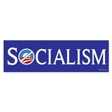 Socialism - Anti-Obama Bumper Sticker (10 pk)