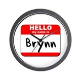 Hello my name is Brynn Wall Clock