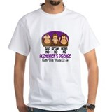 See Speak Hear No Alzheimers 1 Shirt