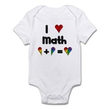 I Love Math Infant Bodysuit
