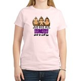 See Speak Hear No Fibromyalgia 3 T-Shirt