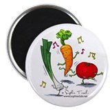 Veggie Medley Magnet by Sophie Turrel