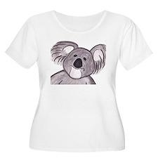 koalasketch3-big Plus Size T-Shirt