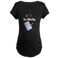 I Love to Write T-Shirt