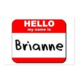 Hello my name is Brianne Postcards (Package of 8)