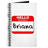Hello my name is Briana Journal