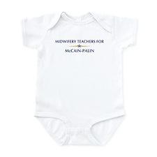 MIDWIFERY TEACHERS for McCain Infant Bodysuit