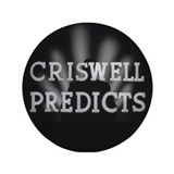 "Criswell Predicts 3.5"" Button"