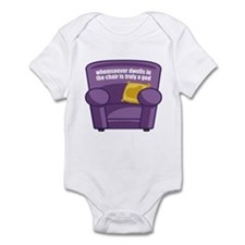 Armchair God Infant Bodysuit
