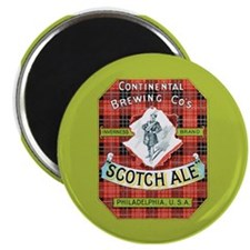 Vintage Scotch Ale Label Magnet