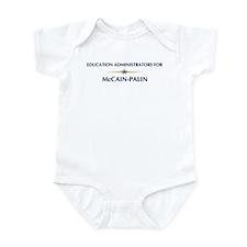 EDUCATION ADMINISTRATORS for Infant Bodysuit