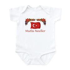 Turkey Mutlu Noeller Onesie